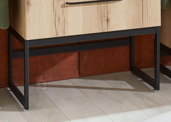 OPTIbasic Jalad valamukapile Optibasic 4070 must, 75x42,8xH36,5 cm