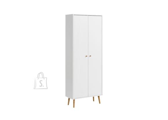 Schildmeyer Jalatsikapp JONTE valge, 65x30xH176 cm