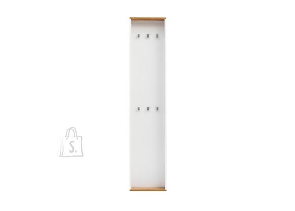 Schildmeyer Seinanagi PADUA valge / tamm, 40x12xH181 cm