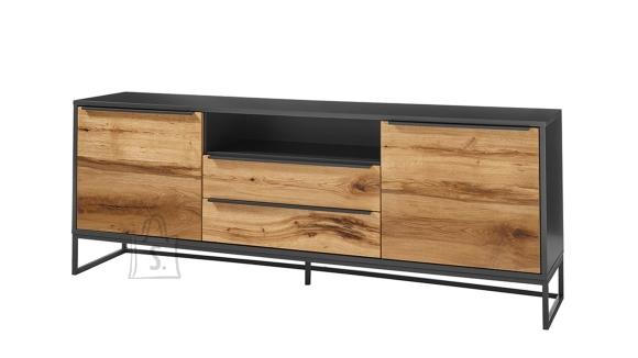MCA Tv-alus ASMARA tamm / antratsiit, 184x40xH69 cm