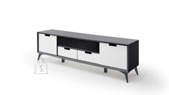 MCA Tv-alus NETANJA valge / hall, 180x40xH55 cm