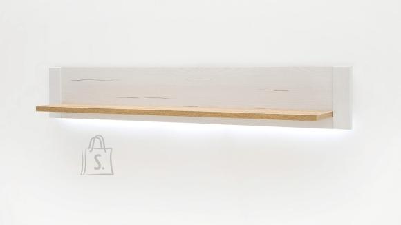 MCA Seinariiul BRIXEN valge mänd / tamm, 150x22xH25 cm