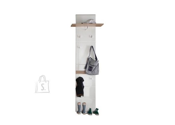 Trendteam Seinanagi SET-ONE valge läige, 60x25xH195 cm