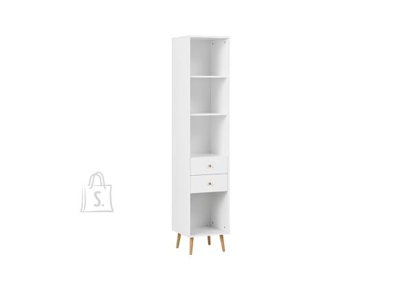 Schildmeyer Kontoririiul JONTE valge, 40x39xH194 cm