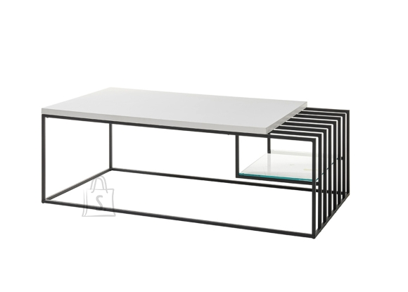 MCA Diivanilaud JUBA valge, 120x60xH40 cm