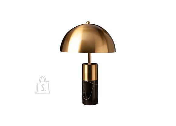Lauavalgusti BURLESQUE kuldne / must marmor, 35x35xH52 cm