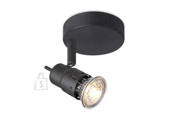 Home Sweet Home Kohtvalgusti CILINDRO must, D14xH9,5 cm, LED