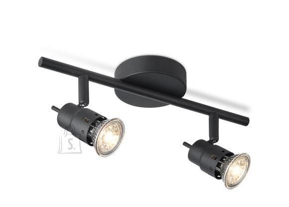 Home Sweet Home Kohtvalgusti CILINDRO must, 32xH15,5 cm, LED