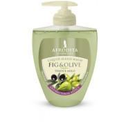 """Afrodita Vedelseep """"Oliivekstrakti ja viigimarjaõliga """" 300 ml"""