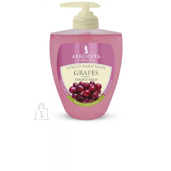 """Afrodita Vedelseep """"Punane viinamari"""" 300 ml"""