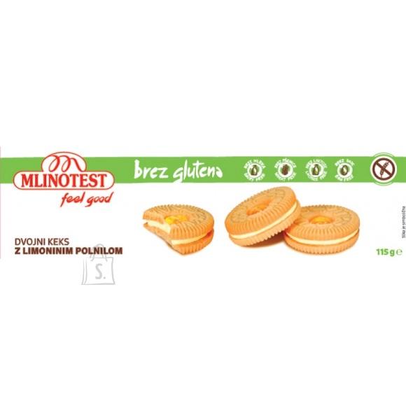 Mlinotest küpsised sidrunikreemi täidisega 115g