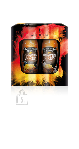 Afrodita Kinkekomplekt Cinnamon & Honey 2x250ml LIMITEERITUD