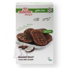 Mlinotest Feel Good täistera hommikusöögiküpsis kookose ja kakaoga 150g