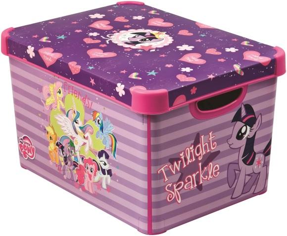 Curver mänguasjakast kaanega My Little Pony L