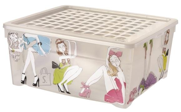 Curver kast kaanega Tüdrukud 18.5L