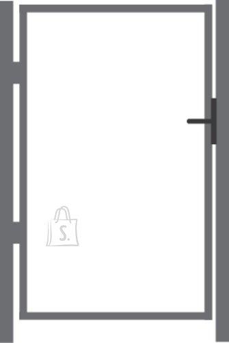 Kuumtsingitud jalgvärava raam 1.25x1m