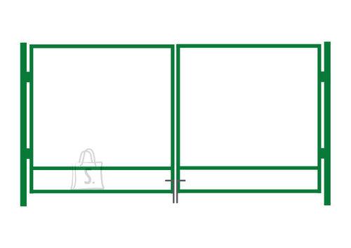 Autovärava raam 1x4m