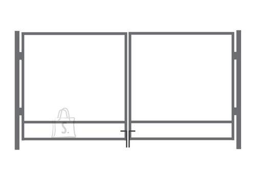 Kuumtsingitud autovärava raam 1.25x4m