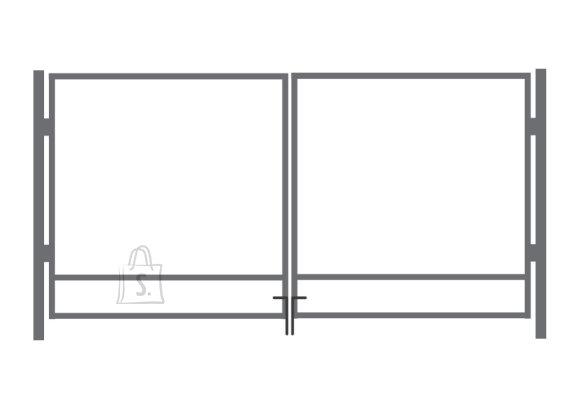 Aia autovärava kuumtsingitud raam 1.75x4m