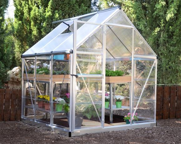 Kasvuhoone Hybrid 3.44 m²