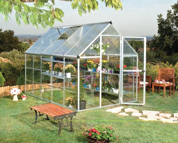Kasvuhoone Hybrid 5.66 m²