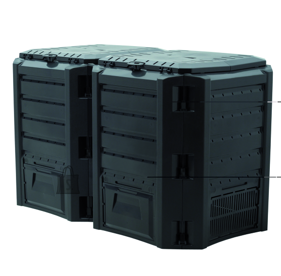 Komposter Compo 800L 2-SEKTSIOONIGA must