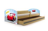 Lastevoodi voodipesukastiga Car