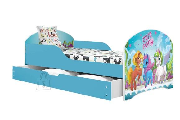 Lastevoodi voodipesukastiga Cute Pony