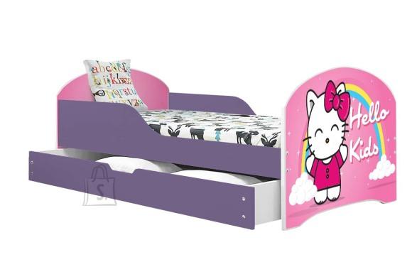 Lastevoodi voodipesukastiga Hello Kids