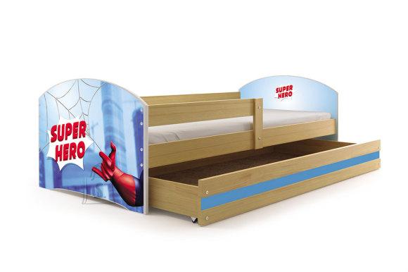 Lastevoodi voodipesukastiga Superhero
