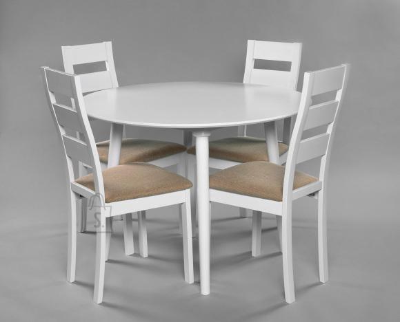 Söögilauakomplekt Andria/Parma laud ja 4 tooli