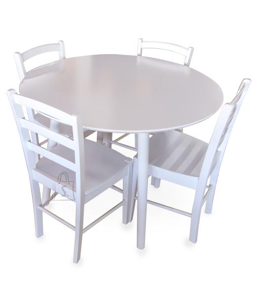 Söögilauakomplekt Andria/Loreta laud ja 4 tooli