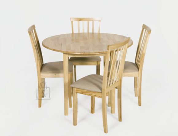 Söögilauakomplekt Monaco/Milano laud ja 4 tooli