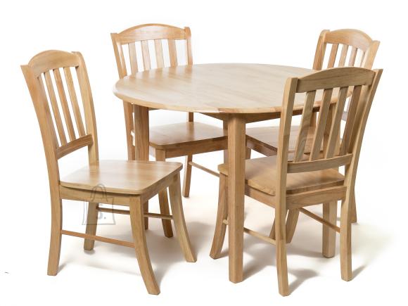 Söögilauakomplekt Monaco laud ja 4 tooli