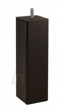 Hypnos voodijalgade komplekt kandilised wenge 4 tk 20 cm
