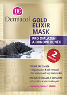 Dermacol Gold Elixir Mask näomask 16 ml