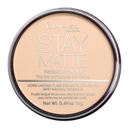 Rimmel London Stay Matte Long Lasting Pressed Powder kivipuuder 14 g Transparent