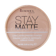 Rimmel London Stay Matte Long Lasting Pressed kivipuuder 009 14 g