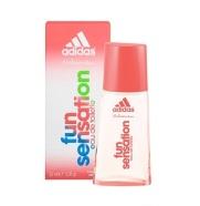 Adidas Fun Sensation 75ml naiste tualettvesi EdT