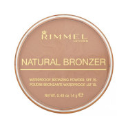 Rimmel London Natural Bronzer Waterproof SPF15 päikesepuuder 14 g