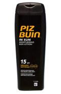 Piz Buin In Sun Moisturising Lotion SPF15 päevituskreem 200 ml