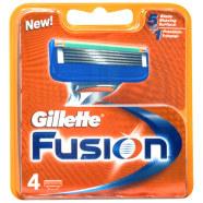 Gillette Fusion žiletiterad 4 tk