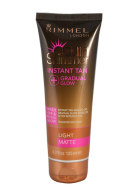 Rimmel London Sun Shimmer Instant Tan Gradual Glow Matte isepruunistav kreem 125ml