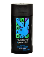 Playboy Generation For Him juuste- ja kehašampoon meestele 250 ml