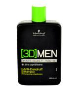 Schwarzkopf 3DMEN kõõmavastane šampoon 250 ml