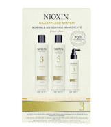 Nioxin System 3 juuksehoolduskomplekt 350 ml