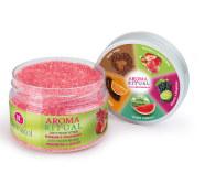 Dermacol Aroma Ritual Rhubarb & Strawberry kehakoorija 200g