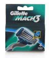 Gillette Mach 3 žiletiterad 4 tk