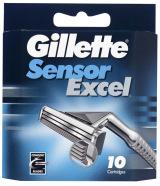 Gillette Sensor Excel žiletiterad 10 tk