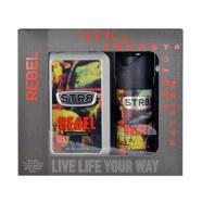 STR8 Rebel lõhnakomplekt meestele EdT 250 ml